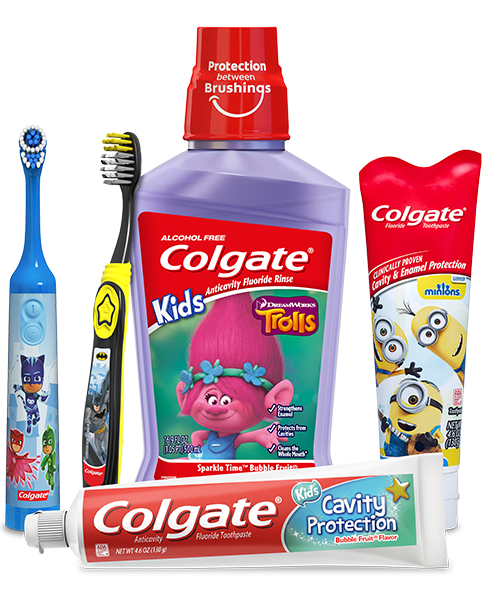 Productos Colgate Kids