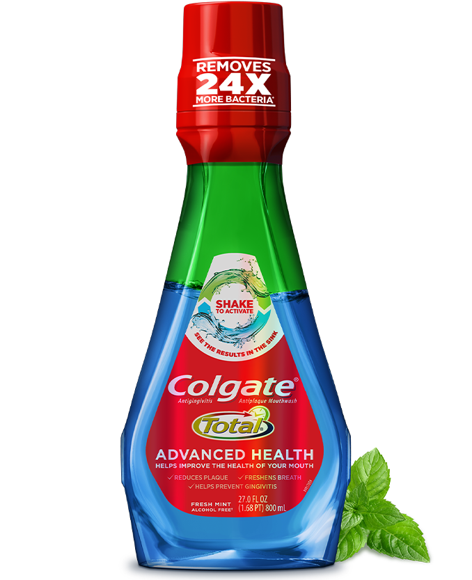 Packshot of Colgate<sup>®</sup> Total<sup>®</sup> Advanced Health Mouthwash