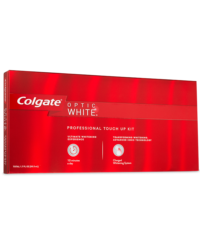 Packshot of Colgate<sup>®</sup> Optic White<sup>®</sup> Professional Touch-Up Whitening*