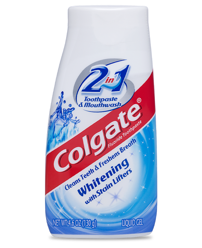 Packshot of Colgate<sup>®</sup> 2in1 Whitening