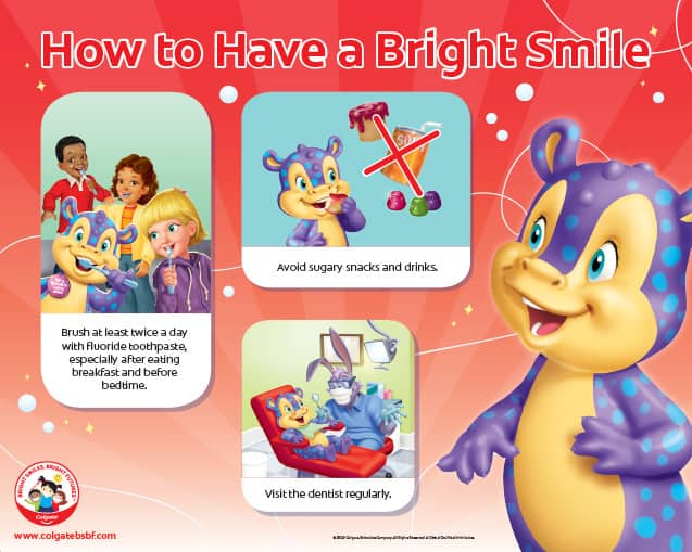 How to Have a Bright Smile Poster