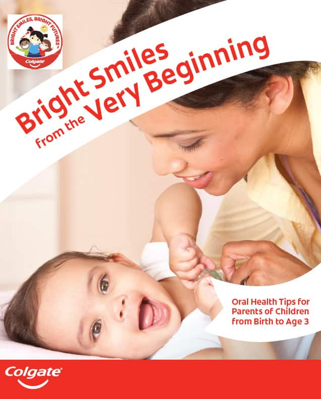 Oral Health Tips for Parents of Children from Birth to Age 3