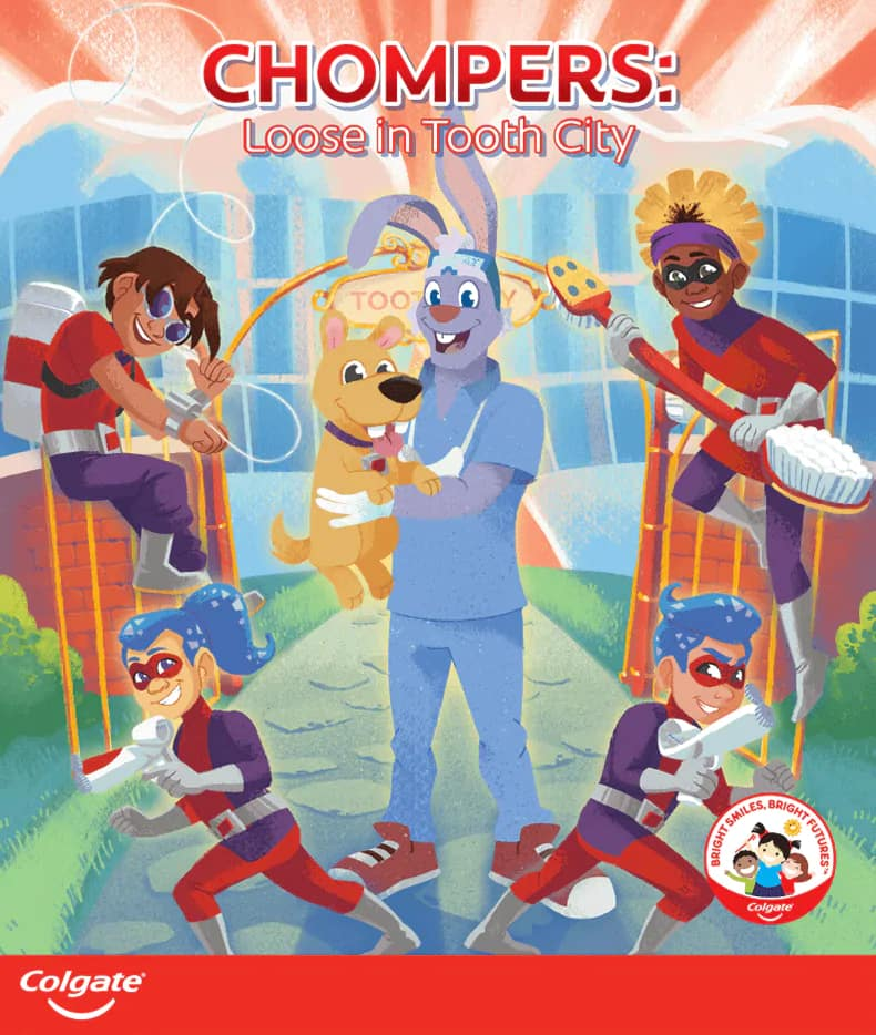 Chompers: Loose in Tooth City storybook