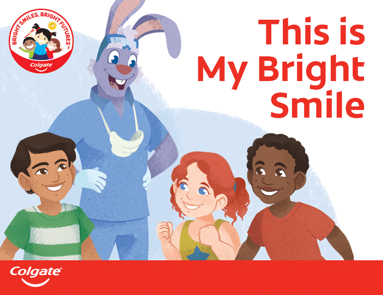 This is My Bright Smile Emergent Reader Cover