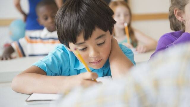 child with underbite