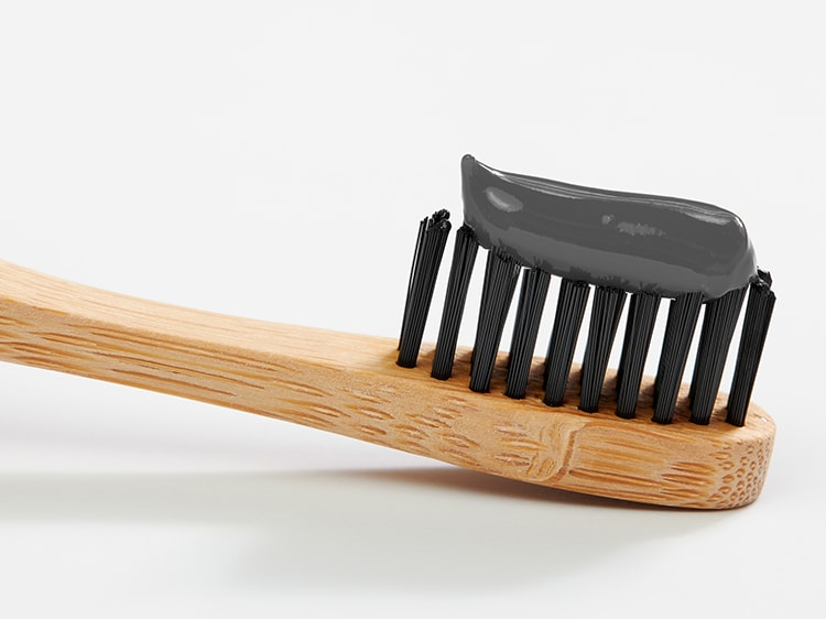 colgate charcoal toothbrush and toothpaste