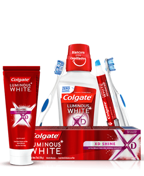Productos Colgate Luminous