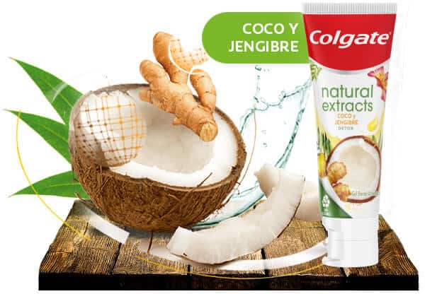 Natural Extracts Coco y Jengibre