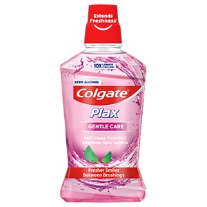 COLGATE PLAX GENTLE CARE MOUTHWASH 500ML