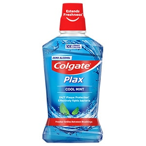 Colgate<sup>®</sup> Plax Cool Mint Mouthwash