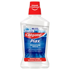 Colgate<sup>®</sup> Plax Sensation White Mouthwash
