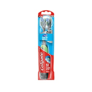 Colgate 360° Floss-Tip Battery Powered Toothbrush 2 Pack