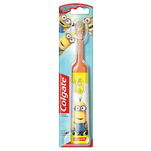 Colgate<sup>®</sup> Kids Minions Extra Soft Toothbrush 4-6 Years