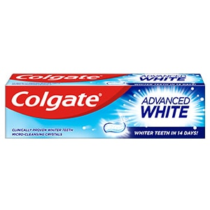 Colgate Advanced White Whitening Toothpaste 75ml