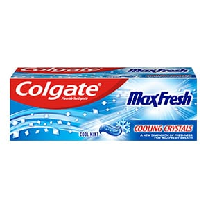 Colgate Max Fresh Cooling Crystals Travel Toothpaste 20ml