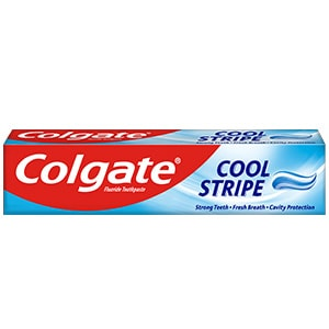 Colgate<sup>®</sup> Cool Stripe Toothpaste