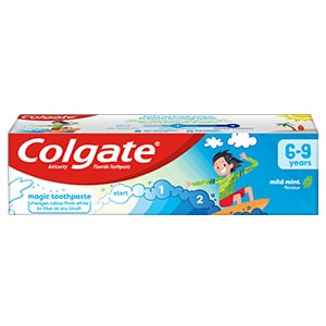 Colgate Kids Mild Mint Flavour Toothpaste 6-9 Years 75ml