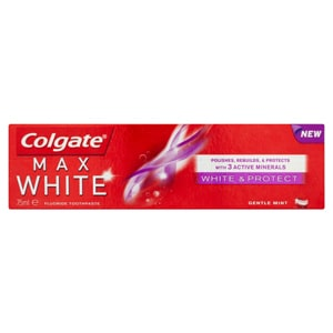 Colgate Max White Whitening & Protect Toothpaste