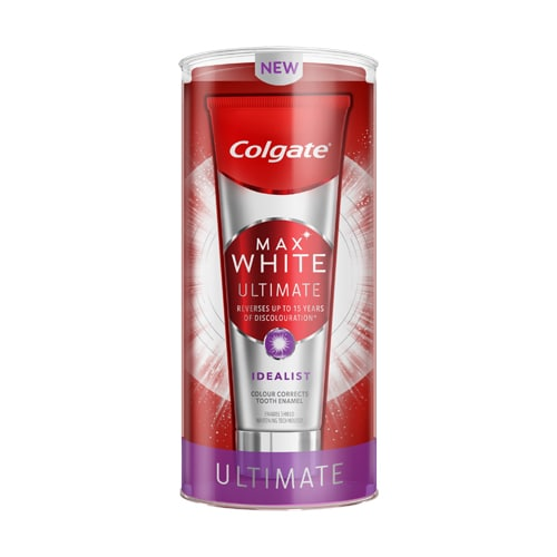 Colgate<sup>®</sup> Max White Ultimate Idealist Whitening Toothpaste