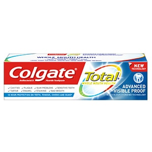 Colgate<sup>®</sup> Total Visible Proof Toothpaste