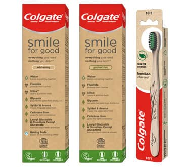 Colgate® Smile for good