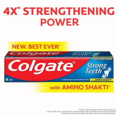 New Colgate With Amino Power