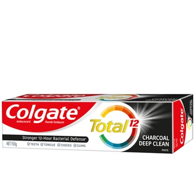 COLGATE TOTAL® CHARCOAL DEEP CLEAN