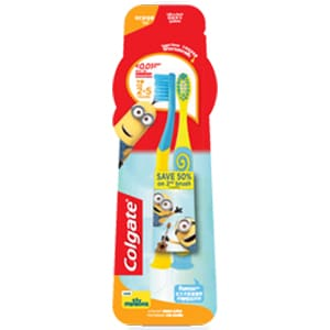 Colgate® Minions Manual Toothbrushes – Age 2-5 Years