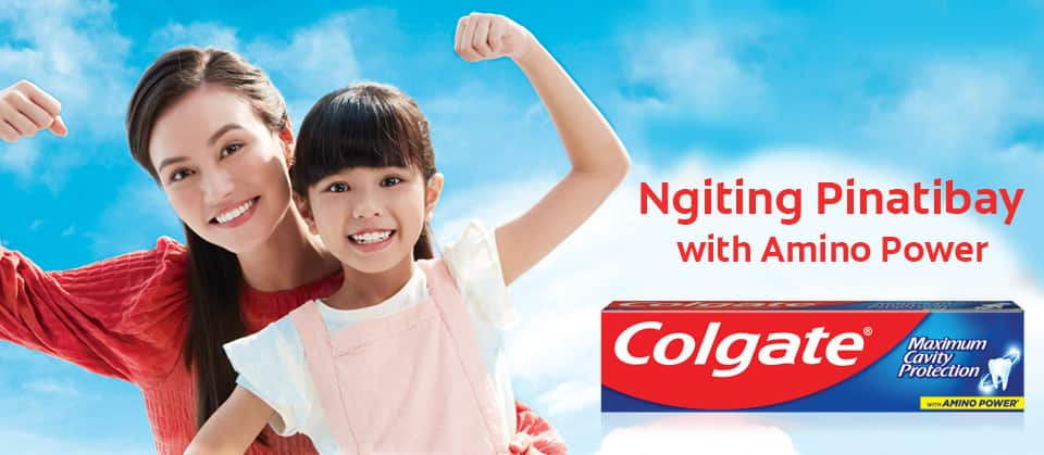 Colgate® Cavity Protection with amino power