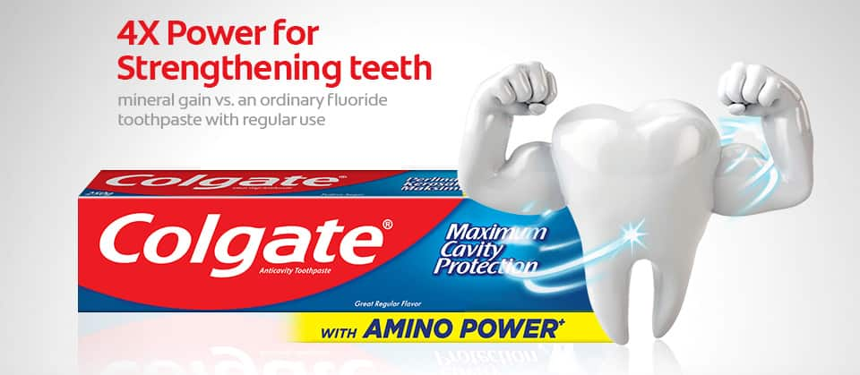 4x power for strengthening teeth