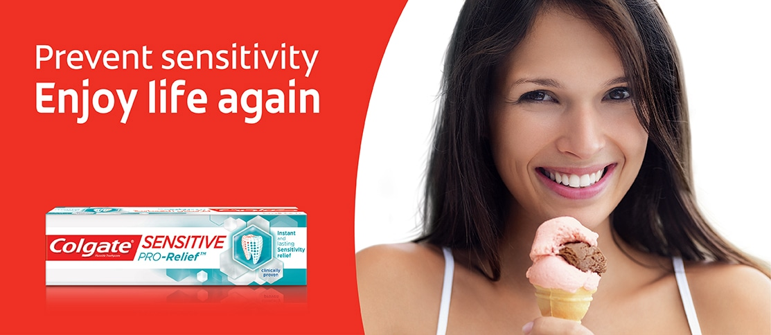 Colgate® Sensitive pro relief - prevent sensitivity