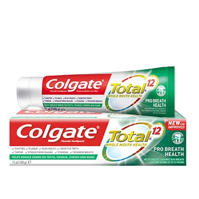 COLGATE® TOTAL® 12 PRO BREATH HEALTH TOOTHPASTE