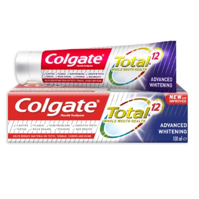 Colgate® Total® 12 Advanced Whitening