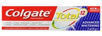 COLGATE® TOTAL® 12 ADVANCED WHITENING, MULTI-BENEFIT TOOTHPASTE