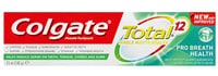 COLGATE® TOTAL® 12 PRO BREATH HEALTH, MULTI-BENEFIT TOOTHPASTE, 75ML