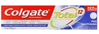 COLGATE® TOTAL® 12 PRO WHITENING MULTI BENEFIT TOOTHPASTE, 75ML