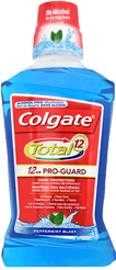 Colgate Total Mouthwash Peppermint Blast