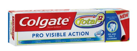 COLGATE® TOTAL® PRO VISIBLE ACTION