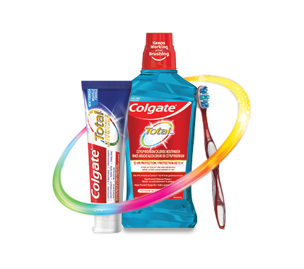 Colgate total products