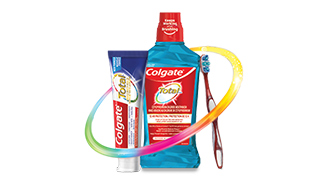 Try Colgate Total* Advanced Whitening Toothpaste