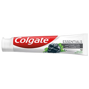 Colgate® Essentials™ Charcoal Teeth Whitening Toothpaste, Activated Charcoal Toothpaste