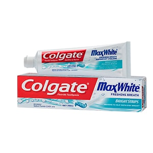 Colgate® Max White With Mini Bright Strips