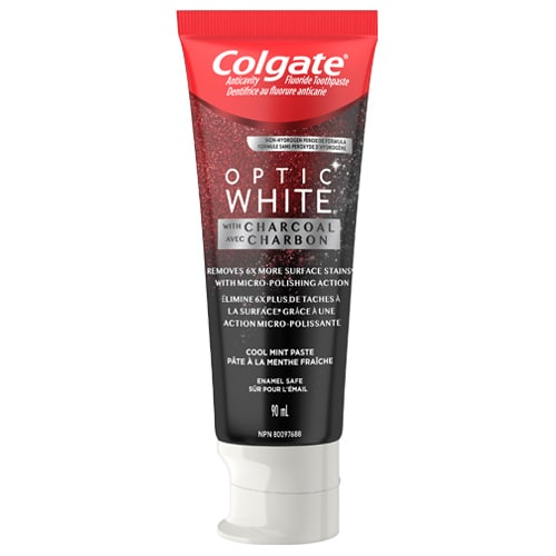 Optic White® with Charcoal Toothpaste
