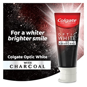 Optic White® with Charcoal Toothpaste Tile 1