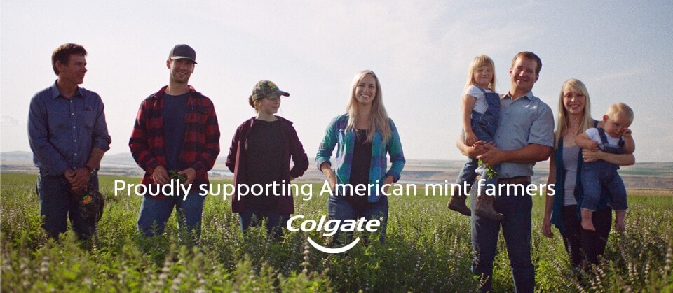 Colgate Supporting American Mint Farmers
