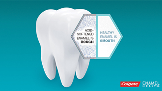 Try Colgate® Enamel Health™ Mouthwash