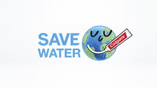 Colgate® Save Water
