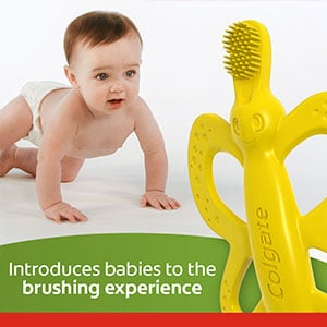 small brush head for babies