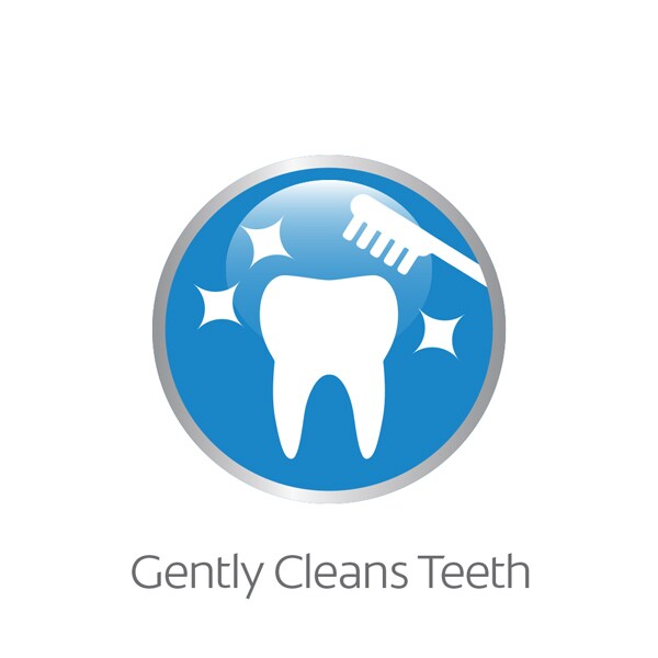 cleans teeth training toothpaste