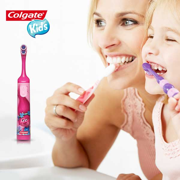 kids electric toothbrush trolls